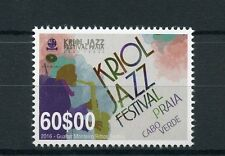Cape Verde 2016 MNH Kriol Jazz Festival Praia Cabo Verde 1v Set Music Stamps