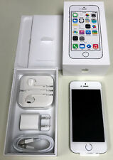 As-Is Read Apple iPhone 5s 16Gb Factory Unlocked Gsm White & Silver Me297Ll/A