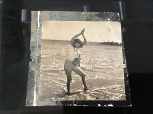 Bunny Yeager Photographer Original 1960's Self Portrait Photograph