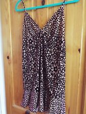 BNWT Designer Anna Sui Dress, size 2, colour- plum multi made in USA