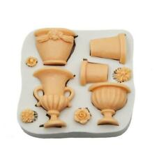 Flower Pot Cake Mold Silicone Mold Chocolate Mold Flower Cake Decorating Tool