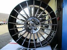 4x AEZ VALENCIA SCHWARZ POLIERT IN 8Jx18 ET32 5x100mm Audi A1/S1, A3/S3 8L,TT 8N