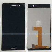 Black LCD Display Touch Screen Digitizer Assembly For Huawei Ascend P7 P7-L10