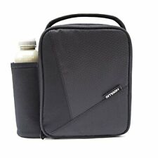 Smash Black Insulated Lunch Bag and 500ml bottle