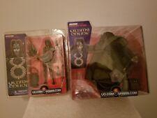 (2) 2002 Mcfarlane Toys Ultima Online Juggernaut/Captain Dasha Action Figures