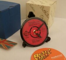 STEPTOE & SON - CLOCK  Actual Vinyl Record Single Desk / Table