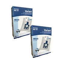 20 Staubsaugerbeutel Variant MI01 Groß geeignet für Miele S 2120 S 2180