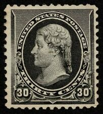 Scott#228 30c President Thomas Jefferson 1890 Mint H OG Well Centered