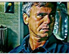 Double aceo print stargate SG1 Samantha carter jack O' Neill 1/1  by Iné.