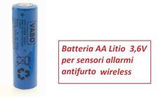 1  Batteria  Stilo  AA ER14505 14500  SL760  Li-SOCL2  3,6V  2400 mAh POLO