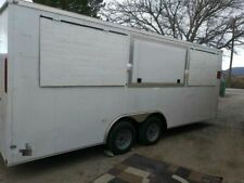 2018 20 Enclosed Concession Trailer Ready To Be Customized For Sale In Texas