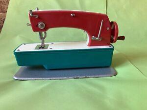 Vintage mini Sewing Machine Soviet Russian Children Toy USSR**