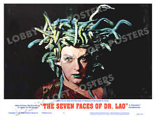 THE SEVEN FACES OF DR LAO LOBBY SCENE CARD # 9 POSTER 1964 TONY RANDALL MEDUSA