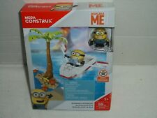 2016 Mega Construx Despicable Me Minion Runaway Rowboat Toy~59 Pieces~NIB!