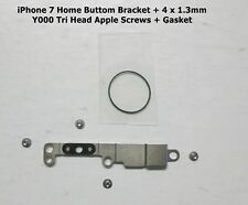 "Apple iPhone 7 4.7"" + Screws Home Button Holder Plate Bracket + Home Gasket"