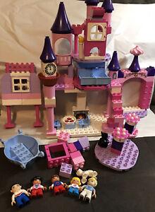 Lego Duplo Disney Princess Cinderella's Castle Pieces And More.