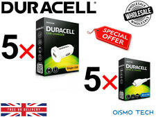 Wholesale Job Lot Clearance Deal 10 x Duracell Car Charger & Micro USB Charger