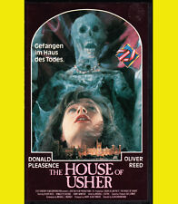 THE FALL OF THE HOUSE OF USHER Oliver Reed VHS Donald Please EDGAR ALLAN POE