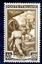ITALIA 1950 - ITALIA AL LAVORO Lire 40  NUOVO **