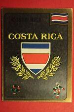 Panini ITALIA 90 N. 182 COSTA RICA BADGE VERY GOOD/MINT CONDITION!!