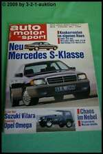 AMS Auto Motor Sport 26/88 DB S Klasse BMW 750i M5 DB 190 E 2,5-16