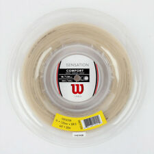 Wilson Sensation 16 Tennis String Reel Comfort 1.30 Length 200mm 660ft WRZ911000