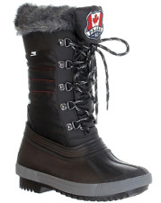 NEW PAJAR CANADA DEBBY BLACK WATERPROOF BOOTS WOMENS 10 WINTER BOOTS INSULATED