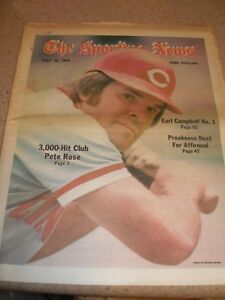 May 1978 The Sporting News - Pete Rose Cincinnati Reds All-Time Hits Leader