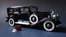 Franklin Mint Al Capone's 1930 Cadillac V-16 Armored Car 1:24 Scale Diecast