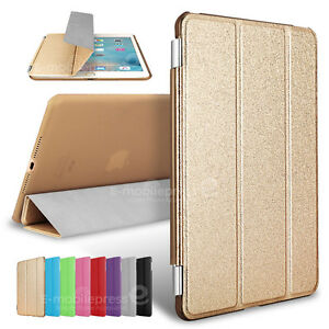 Luxury Ultra Slim Smart Cover Wake PU Leather Stand Case for Apple iPad Mini 4