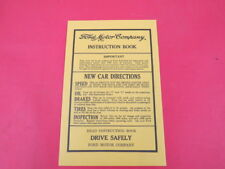 NEW 1932-48 Ford owners manual envelope  BK-7
