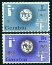 Gambia 210-211, MNH. ITU-100. 1965. Communication equipment. x33126