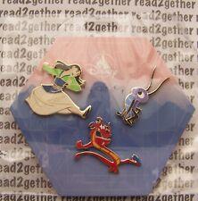 Disney Pin Mulan Mushu Crickee 3 pin set