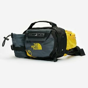 New The North Face Steep Tech Fanny Pack TNF Black Gray Yellow Waist Bag Unisex
