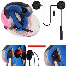 Motorcycle Helmet Headset Speakers Mic Bluetooth Handsfree Music Call Control