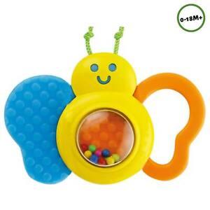 Baby Spielzeug Greif- und Spiel- Schmetterling Rassel Greifling Geräuschen DE