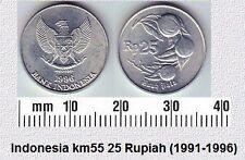 INDONESIA 25 RUPIAH UNC COIN # 2056