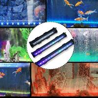 LED Aquarium Luftblase Aquarium Lichter Multi-Color-Tauchlampe Decor