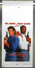 Arma Letale 3 locandina poster Gibson Glover Pesci poliziotti Lethal Weapon 3