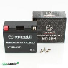Moretti Motorrad Gel Batterie YT12B-4 YT12B-BS GT12B-4 12V 10Ah Neu