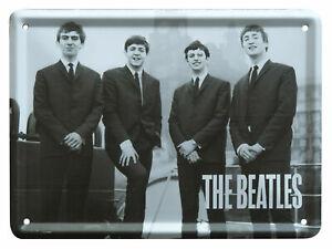 The Beatles LIVERPOOL 62 Metal Sign Steel Small Fridge Magnet (8cm x 11cm)