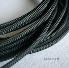 6mm Wide TIGHT Braided PET Expandable Sleeve Cable Wire Sheath Mesh Loom 2-10M