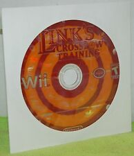 Nintendo Wii Link's Crossbow Training Video Game DISC ONLY Zelda Accuracy Action