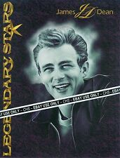 """RARE!! JAMES DEAN 8x11 PROMO SHEET """"EAST OF EDEN"""" """"REBEL WITHOUT A CAUSE"""""""