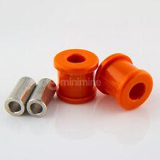 Classic Mini Polyflex Engine Steady Bush Kit 1 Piece Orange rover austin mpi pol