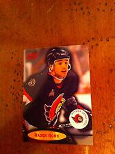 1996 Fleer Hockey Sporting News #74 Trading Card Sports Rader Bonk Senators RARE