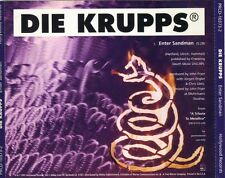 Die Krupps – Enter Sandman PROMO OOP RARE SWEET METALLICA