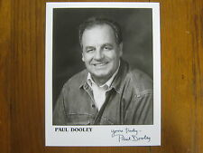 PAUL DOOLEY (The Practice/Popeye/Cars 2/Breaking Away )Signed 8 x 10 B & W Photo