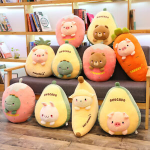 New Simulation Fruit and Vegetable Stuffed Stuffed Toy Children Doll Pillow Gift