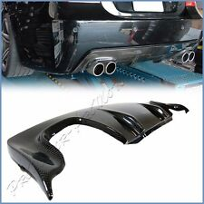 Carbon Fiber 3D Look Rear Diffuser BMW 04-10 E60 E61 Sedan M-Tech M-Sport Bumper
